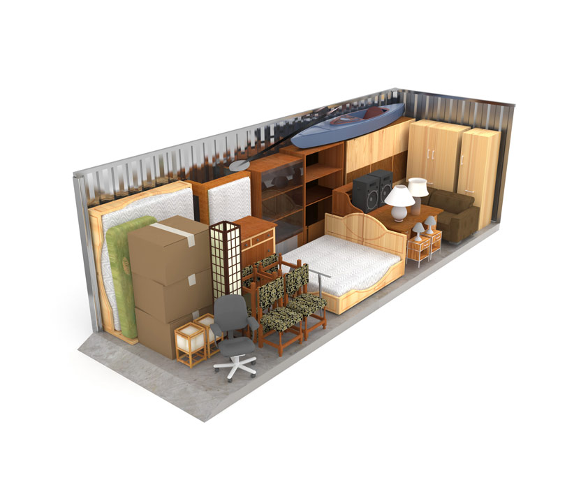 Large Self Storage Unit 4.5x10 Metres