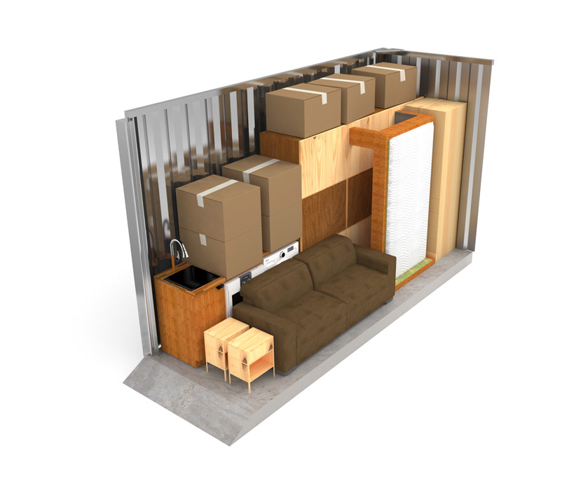 Medium Self Storage Unit 3x4.5 Metres