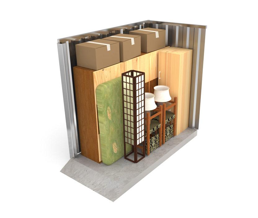 Small Self Storage Unit 2x4.5 Metres
